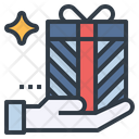 Gift Give Box Icon