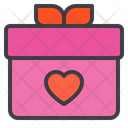 Gift Box Love Love Gift Gift Icon