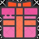 Cross Gift Box Icon