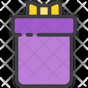 Long Gift Box Icon