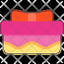 Curve Gift Box Icon