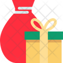 Gift Christmas Box Icon
