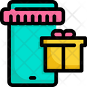 Gift Shopping Online Icon