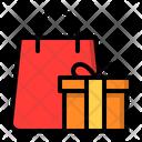 Gift Shopping Bag Icon