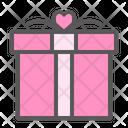 Gift Romantic Romance Icon