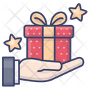 Present Holiday Christmas Icon