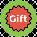 Gift Tag Sticker Icon