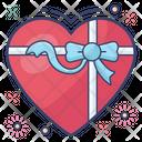 Gift Valentine Heart Heart Gift Icon