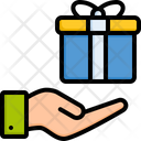 Gift Surprise Shipping Icon