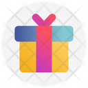Gift Box Birthday Icon