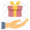 Birthday Donation Gift Icon
