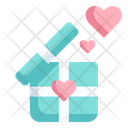 Gift Love And Romance Heart Icon