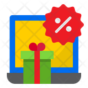 Gift Discount Shopping Icon