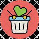 Gift Hamper Basket Icon