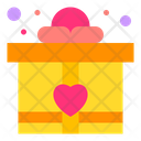 Gift Giftbox Heart Icon