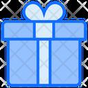 Gift Box Ribbon Icon