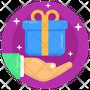 Gift Box Surprise Present Icon
