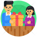 Gift Surprise Siblings Gift Icon