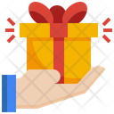 Gift Shopping Commerce Icon