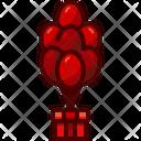 Gift Gift Box Balloon Icon