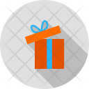 Gift Open Parcel Icon
