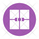 Gift Box Ribbon Icon