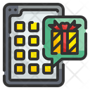 Gift Application Application Smartphone Icon