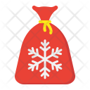 Gift Santa Bag Icon