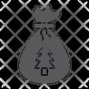 Santa Bag Gift Icon
