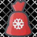 Gift Bag Santa Icon