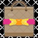 Gift Bag Ribbin Present Icon