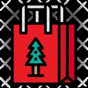 Gift Bag Xmas Christmas Icon