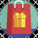 Gifts Gift Bag Icon