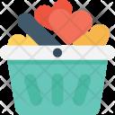 Gift Basket Valentine Icon