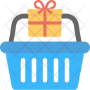 Hamper Gift Basket Icon