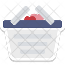 Gift Basket Love Icon