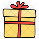 Gift Box Wrapped Gift Wrapped Box Icon