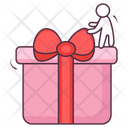 Gift Surprise Wrapped Gift Icon