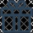 E Commerce Gift Box Icon