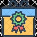 Seo Gift Box Icon