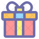 Gift Box Birthday Icon