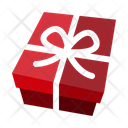 Birthday Gift Box Package Icon