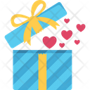 Gift Box Heart In Box Day Icon