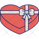 Gift Gift Box Heart Icon