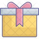 Giftbox Gift Pack Christmas Gift Boxes Icon