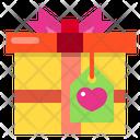 Gift Box Lable Present Icon