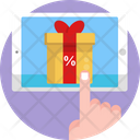 Cyber Monday Gift Gift Box Icon