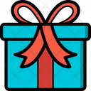 Christmas Father Present Icon