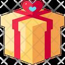 Gift Box Gift Marriage Icon