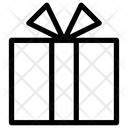 Ribbon Bow Box Icon